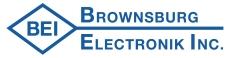 BROWNSBURG ELECTRONIK INC.